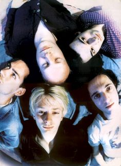 """Radiohead, 1994 - By Jeoffrey Johnson   """"Yes Jonny, Thom is shagging the third act. Beck, I think his name was..."""""""