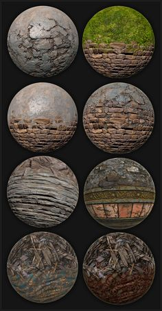 Environment Texture/Shader Art : Texture and Shader