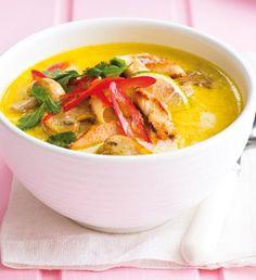 Polévka miso s opečeným tofu Soup Recipes, Great Recipes, Cooking Recipes, Asian Recipes, Healthy Recipes, Ethnic Recipes, Pak Choi, Low Cholesterol Diet, Modern Food