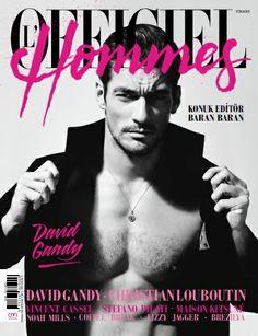 L'Officiel Hommes'un yeni sayısı bayilerde! Üstelik iki kapak yakışıklımız var. David Gandy ve Ümit Benan.