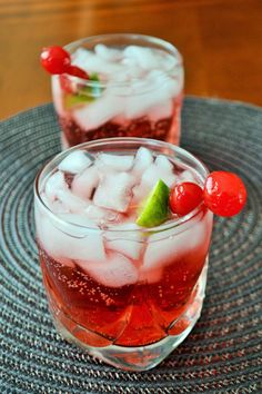 Dirty Shirley - our favorite childhood drink, grown up