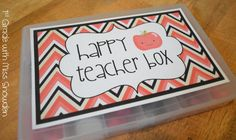 First Grade with Miss Snowden: Perfect back-to-school gift for teammates!