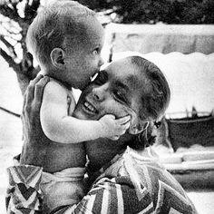 Nothing can beat the love between mum & son❤️ #romyschneider #david