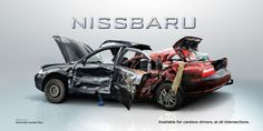 NISSBURU. Available for careless drivers, at all intersections.  You can drink and drive. Or drink and live.  Inspirational galleries we present the latest of our findings from the wonderful world of design. Amazing high quality artworks in various categories from great designers all over the globe.