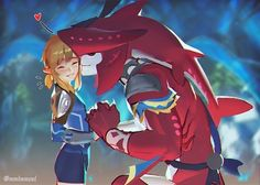 OMG Cutest thing ever *-* Sidon & Link