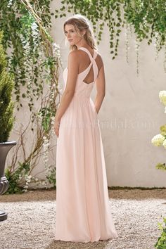 Jasmine Bridal - B2 Style B193002 in Lace/Poly Chiffon, color Dreamsicle
