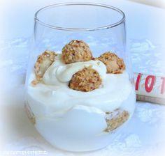 Ihr mögt Giotto auch so gerne wie ich ? Dann habe ich hier genau das richtige Dessert für Euch. Eine fruchtige Zitronencreme, in die Gio...