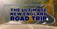 New England in the United States is a truly beautiful place to visit. Take a road trip and discover the best of this region.