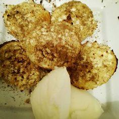 από τηνFotini Sabani Υλικά: Για την βάση: Πίτουρο βρώμης 1 αυγό 1 Κ.σ γιαούρτι Cauliflower, Vegetables, Food, Cauliflowers, Essen, Vegetable Recipes, Meals, Cucumber, Yemek