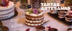 Pastel layer cake de zanahoria con su glaseado de queso crema y nueces. Cupcakes, Cheesecake, Desserts, Food, Fondant Cakes, Frosting, Lolly Cake, Homemade Recipe, Candy Stations