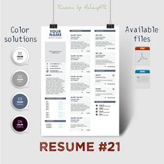 Resume #21