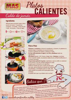 Receta de caldo de jamón, ¿apetece? :)    #Recetas #Infografia #InfoRecetas