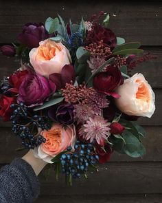 winter wedding floral arrangements wedding flowers - Page 85 of 101 - Wedding Flowers & Bouquet Ideas Mauve Wedding, Fall Wedding Flowers, Winter Flowers, Fall Wedding Colors, Floral Wedding, Trendy Wedding, Boquette Wedding, Diy Flowers, Winter Wedding Bouquets
