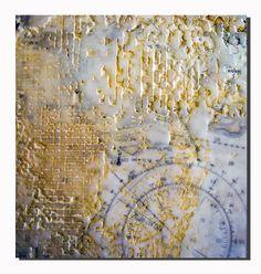 detail of encaustic art piece by nancy donaldson - allpulpedout blog