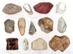 identify+indian+artifacts+found+in+iowa+photo+guide | Points from Site 2601. Indian arrowheads and knives were found ...