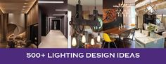 Lighting Design and its importance in interior design