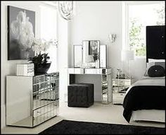 Decorating theme bedrooms - Maries Manor: Hollywood glam themed bedroom ideas - Marilyn Monroe Old Hollywood Decor - Hollywood theme decor- decorating Hollywood glam style bedrooms - Hollywood glam furniture - Hollywood At Home - Mirrored Bedroom Furniture Sets, Vintage Bedroom Furniture, Bedroom Vintage, Furniture Ideas, Cheap Furniture, Glass Furniture, Furniture Buyers, Furniture Outlet, Furniture Stores