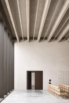 Kaan Architecten�s Belgian crematorium encourages introspection   The elimination of various passageways encourages introspection, says Panhuysen. The spatial clarity of the crematorium�s layout contributes to the tranquility of the experience here, as do