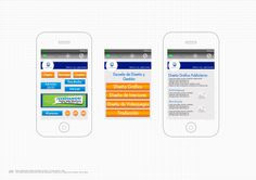 Propuesta Digital para página del instituto Cibertec en Smartphone Curso: Diseño de Interfaces Multimedia