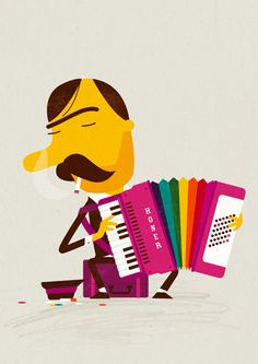 Accordian ★ Find more at http://www.pinterest.com/competing/