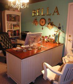 Bella Luna Creative Design Home Office - eclectic - home office - seattle - Suzy Pierce
