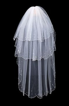 Sweep White #Veils Style Code: 07923 $14.99