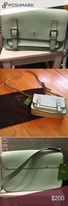 🎀🤹♂️NWT Kate spade ♠️ Essex Scout Crossbody bag Tiffany blue NWT kate spade Bags Crossbody Bags