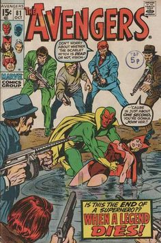 Gangsters gang up on the Avengers!