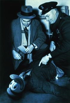 L.A. Confidential (Cops II), 2000, mixed media (oil and acrylic on canvas), 178 x 122 cm / 70 x 48''
