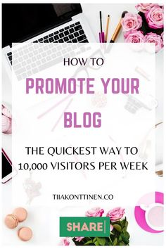 How to promote your blog: The quickest way to 10,000 visitors per week I Tiia Konttinen I Tips how to increase your blog traffic, how to get visitors, how to increase your following, how to grow your blog traffic #blog #blogging #blogtraffic #blogtips #tiiakonttinen #seoforblogs How To Create A Successful Blog, Creating A Blog, How To Start A Blog, Keyword Planner, Seo For Beginners, Blog Names, Blog Topics, Make Money Blogging, Fun Workouts