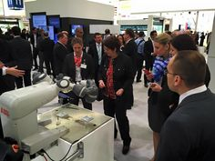 Hannover Messe 2015 - Still standing room only at the Booth. Abb Robotics, Still Standing, Room, Reunions, Hannover, Bedroom, Rum
