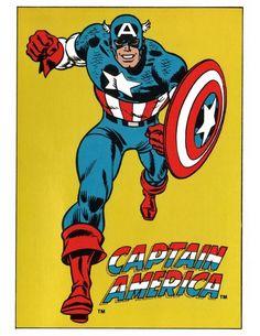Captain America by John Romita Sr. tumblr_njfj8jvIFy1qhpx4lo1_540.jpg (540×698)