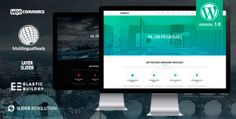 Pegasus WordPress Theme, Parallax, One-Page (Business) | WPtized.com