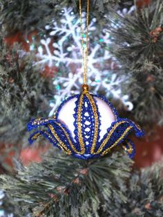 Advanced Embroidery Designs. Battenberg lace Christmas ornaments. Instructions…