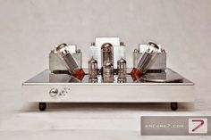 Mono and Stereo High-End Audio Magazine: Encore Seven Classic series integration amplifier audiophile