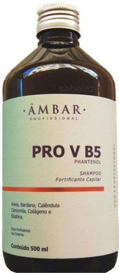 Shampoo Pro V B5 Phantenol Ambar 500 ml