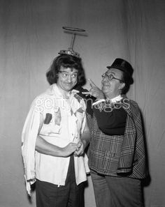 Red Skelton Show: Red Skelton and Ed Wynn Hollywood Icons, Classic Hollywood, Old Hollywood, Ed Wynn, Slapstick Humor, Jessica Mendoza, Funniest Pictures Ever, Funny Comedians, Red Skelton