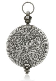 Johnson, London A SILVER VERGE WATCH WITH DATE CIRCA 1670   Sotheby's