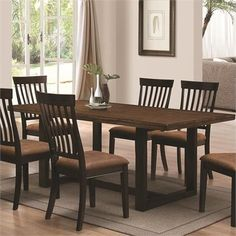 Wood River Dining Set