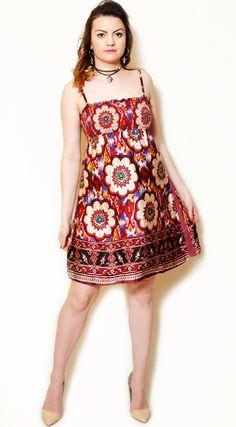 031ef526454 90s silk sundress a line sun flared cute short spaghetti strap sexy summer  empire waist floral pattern ethnic gypsy dresses shirring navajo