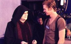 Behind the scenes of Revenge of the Sith: Ian McDiarmid, Hayden Christensen