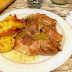 Pork, Chicken, Meat, Chicken Drumsticks Oven, Chicken Recipes, Breast, Potatoes, Food, Pork Roulade