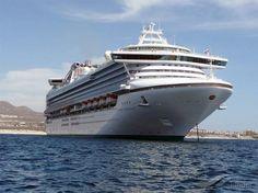 SAPPHIRE PRINCESS, type:Passenger (Cruise) Ship, built:2004, GT:115875, http://www.vesselfinder.com/vessels/SAPPHIRE-PRINCESS-IMO-9228186-MMSI-235103357