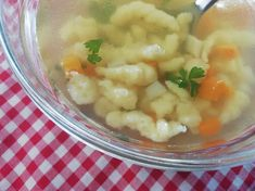 Skvelé krupicové halušky do polievky, tradičný RECEPT Cauliflower, Food And Drink, Soup, Meat, Vegetables, Cooking, Kitchen, Recipes, Cauliflowers