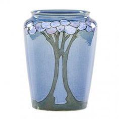NORTH DAKOTA SCHOOL OF MINES Vase with trees : Lot 343