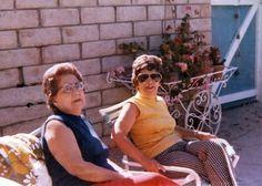 Brana Staum Pinsky & Lee Staum Goldberg near Irv & Carols home at 12427 Sunset Blvd LA CA near pool 1971 | by reel3d1