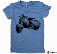 Women's VINTAGE VESPA T-Shirt