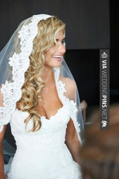 Sweet - Wedding Hair With Veil mantilla bridal veil | Wedding Veil - Cathedral Length Mantilla with Vintage French Alencon ... | CHECK OUT SOME FANTASTIC SHOTS OF GREAT Wedding Hair With Veil OVER AT WEDDINGPINS.NET | #weddinghairwithveil #weddingveil #weddinghairstyles #weddinghair #hair #stylesforlonghair #hairstyles #hair #boda #weddings #weddinginvitations #vows #tradition #nontraditional #events #forweddings #iloveweddings #romance #beauty #planners #fashion #weddingphot