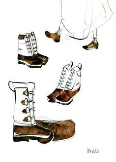 #イラスト #革 #バッグ #ポーチ #財布 #靴 #鞄 #ドローイング #インク #ペン #シンプル #アート #illustration #leather #bag #pouchu #wallet #shose #drawing #ink #pen #simple #art #junsasaki