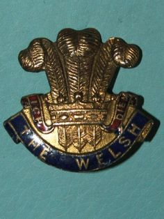 WW1-WELSH-REGIMENT-SWEETHEART-BROOCH-NO-1-100-ORIGINAL-GUARANTEED